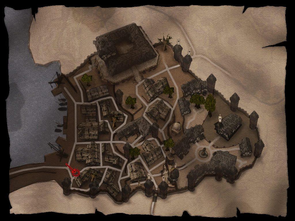 Халвор на карте