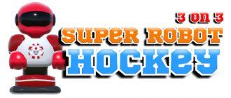 3 on 3 Super Robot Hockey